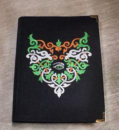Блокнот в вышитой обложке Око Волшбы – купить в интернет-магазине на Ярмарке Мастеров с доставкой