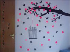 DIY: Adesivos de parede #contact