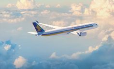 Singapore Airlines A350 #singapore #sngaporeairlines #a350