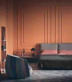 Bedroom design - Architecture and Home Decor - Bedroom - Bathroom - Kitchen And Living Room Interior Design Decorating Ideas - Pink Bedroom Design, Interior, Interior Spaces, Bedroom Interior, Bedroom Trends, Modern Interior Design, Urban Interiors, Modern Interior, Luxury Home Decor