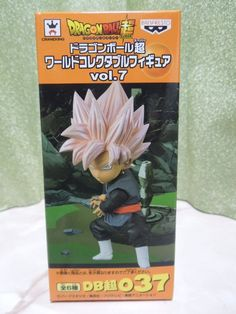 New Dragon Ball Super WCF World Collectable Vol.7 037 Rose Gokou Black Figure