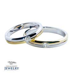 Set verighete cu Diamant PAL-VEG-011 Wedding Rings, Engagement Rings, Jewelry, Jewellery Making, Wedding Ring, Enagement Rings, Jewelery, Engagement Ring, Jewlery