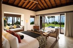 Sri Lanka - The new Anantara Peace Haven Tangalle Resort lies amongst 42 acres of coconut plantation and offers sweeping views of the stunningly azure Indian Ocean. Tai Chi classes on the beach and a visit to the spa—grounded in ancient holistic Ayurvedic principles—are a must, but while you're in Sri Lanka, make sure to also take a trip to the Udawalawe elephant sanctuary and if you're traveling between December and April, head over to Weligama Bay for whale and dolphin watching.