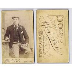 Find many great new & used options and get the best deals for CDV Gentleman Wearing a Flat Cap Carte de Visite Photo by Poole of Morecambe at the best online prices at eBay! Free delivery for many products! Lancaster, Gentlemen Wear, Morecambe, Flat Cap, Free Delivery, Gentleman, Flats, Antiques, How To Wear