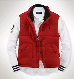 red fashion Ralph Lauren Mens Jacket