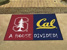 Stanford / UC-Berkeley House Divided Mat