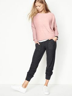 Sweater Jogger - A Kiss of Cashmere - Victoria's Secret
