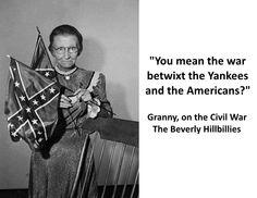 beverly hillbillies granny civil war