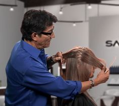 Zig Zag Sectioning technique - Sam Villa, education artistic director for Redken 5th Avenue  ||  ModernSalon.com
