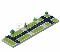 isometric roads