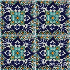 Polanco 2 Talavera Mexican Tile