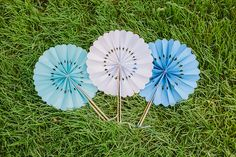 Paper Wheel Fan - photo by Our Labor of Love