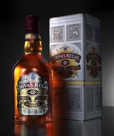 Chivas Regal 12yr old whisky /// 3D Creative Vis & Adv on Behance
