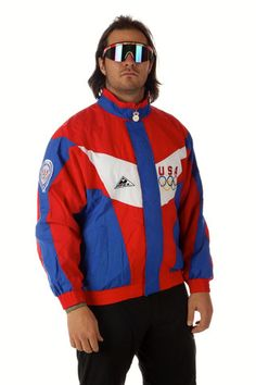 USA Olympic Windbreaker | Get your USA gear and all manner of outrageous threads at Shinesty.com