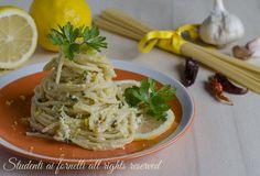 Spaghetti al limone cremosi senza panna, un primo piatto gustoso e leggero perfetto per la dieta. Ricetta facile e veloce