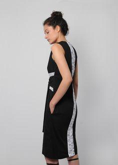 Cleft Lip, Backless, Dresses, Fashion, Vestidos, Black, Clothing, Atelier, Moda