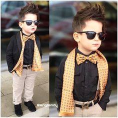 """ Love him @engjiandy #trendy #feature #follow #shoutout #style #stylish #kidstyle #kidfashion #fashion #cute #tagsforlikes #photooftheday #instagood…"""