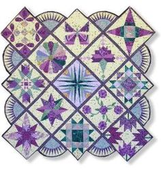 quilters palette quilt by bridgett