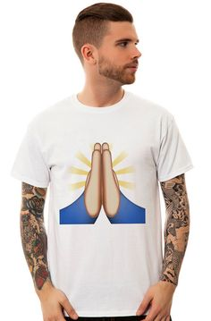 http://www.karmaloop.com/product/The-Grateful-Hands-Emoticon-Prayer-Tee-in-White/482757