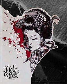 #tattoo #tattooekb #gettattoo #freesketch #sketch #ekaterinburg #work #goodjob #black #oxidetattoo #girl #beatiful #gorgeous #grapfic #art #artwork #gettattooekb #geisha #geishatattoo #asiangirls #blood #mechanic #cyber #cyberpunk #cybergoth #blackandwhite