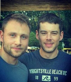 Will and Wolfie #Sense8 in Brazil