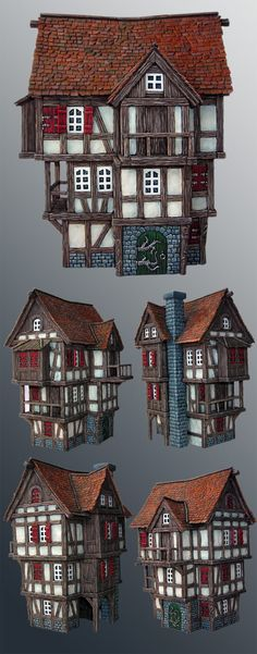 scratchbuilt house
