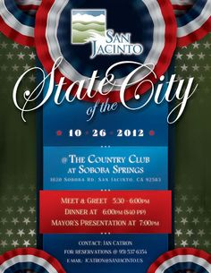 SJ State of the City flyer