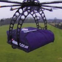 Des pizzas livrées par drone