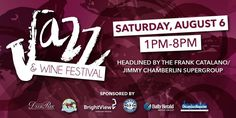 Deer Park Town Center's 2016 Jazz & Wine Fest is coming up on Saturday, August 6th! I'm loving the lineup of this year's performers ... http://wp.me/p1NGbX-12cX