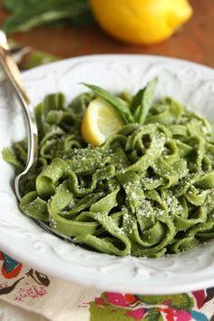 Easy Homemade Pasta Noodles!  No pasta machine necessary