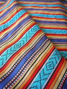 South American Andean fabrics.Thin and sturdy, perfect for creating home decor, clothing, accessories, and more.
