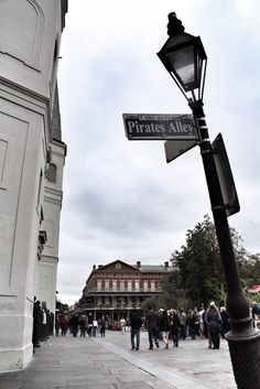 Pirates Alley from New Orleans in Photos: 42 Small Things that make up The Big Easy