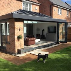 While age-old inside thought, the pergola have been experiencing somewhat of a current rebirth these House Extension Plans, House Extension Design, Glass Extension, Extension Designs, Roof Extension, Extension Ideas, Orangery Extension Kitchen, Conservatory Extension, Kitchen Diner Extension