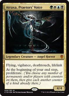 Atraxa, Praetor's Voice mtg Magic the Gathering Commander 2016 card
