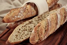 Baguette mit Weizensauer - HOME BAKING BLOG - The Art of Baking