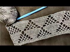 Filet Crochet, Crochet Motif, Crochet Lace, Crochet Stitches Patterns, Stitch Patterns, Passementerie, Seed Stitch, Baby Knitting, Crochet Projects