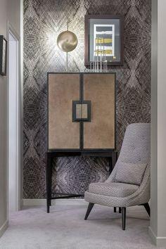 Modern home bar design ideas Sideboard Furniture, Bar Furniture, Luxury Furniture, Furniture Design, Modern Home Bar Designs, Modern Interior Design, Interior Design Inspiration, Design Ideas, Contemporary Cabinets