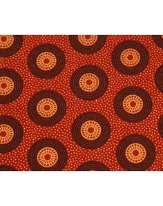 (Per Meter Price) Da Gama 3 Cats Shwe Shwe Fabric Code H0399 cw 53(orange)