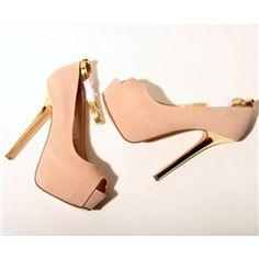 Gorgeous Peep-toe Platform Stiletto Heels