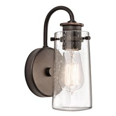 I like this sconce      View Larger | Share your Images Kichler Lighting 45457OZ 1 Light Knox Wall Sconce Part of the Knox Collection by Kichler Ligh...