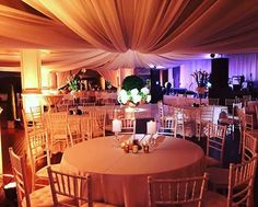 The romantic draping for this wedding looks spectacular by Luma Designs! If you want to step up your wedding decor, check them out. Click the image to learn more. Photo credit: Luma Designs Facebook page