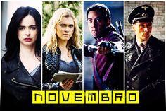» Estreias de Novembro: Confira os retornos e as novas séries que chegam neste mês