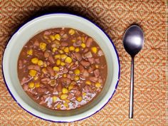 Isophu Yombona - Mealie(corn) and sugar bean soup. A Xhosa favourite especially in the Eastern Cape. Zambian Food, Meat Love, Soup Recipes, Healthy Recipes, Xhosa, South African Recipes, Bean Soup, Soul Food, Yummy Food