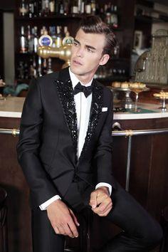 patrick kafka by saverio cardia – Daily Fashion Gq, Mens Tailored Suits, Mens Suits, Estilo Glamour, Designer Suits For Men, Black Tie Affair, Mens Fashion Suits, Daily Fashion, Men's Fashion