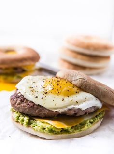 Homemade Turkey Sausage Breakfast Sandwich