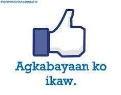I like you = Agabayaan ko ikaw