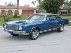 1970 Monte Carlo the best Monte it was all downhill from here.