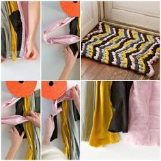 DIY : Friendship Bracelet Chevron Rug | DIY & Crafts Tutorials