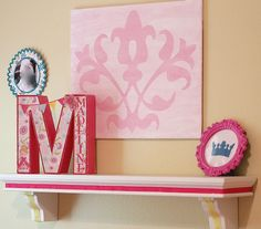 Princess room decor - DIY