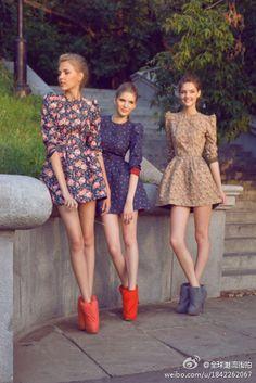 Dress up, ladies! Spring is coming!